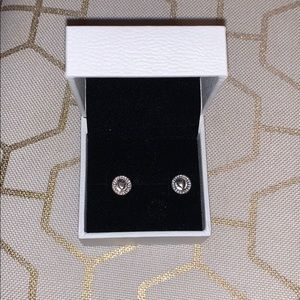 Pandora Jewelry - Forever Pandora Hearts Earrings